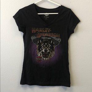 Harley-Davidson Black Wolf T-Shirt